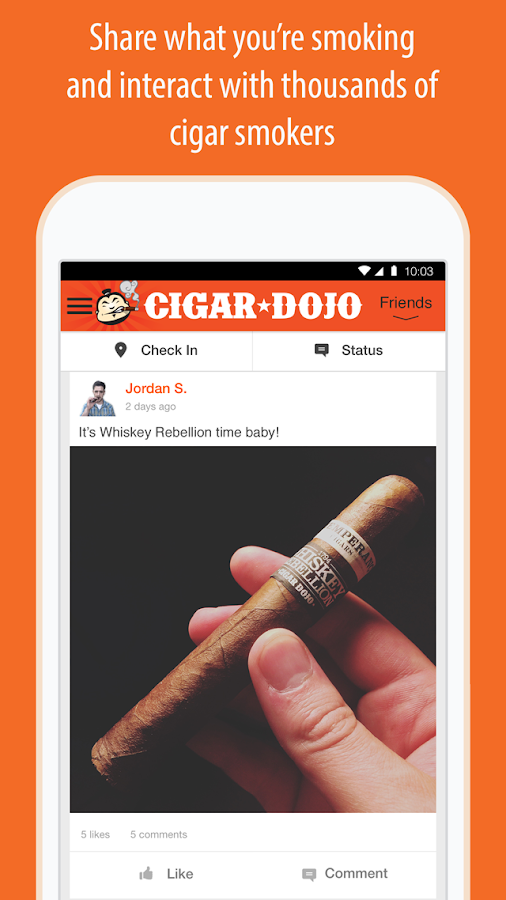Cigar Dojo - Never Smoke Alone- screenshot