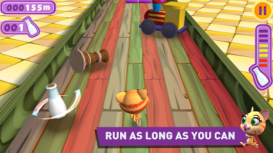 Racing Cat Runner: Speed Jam screenshot 3