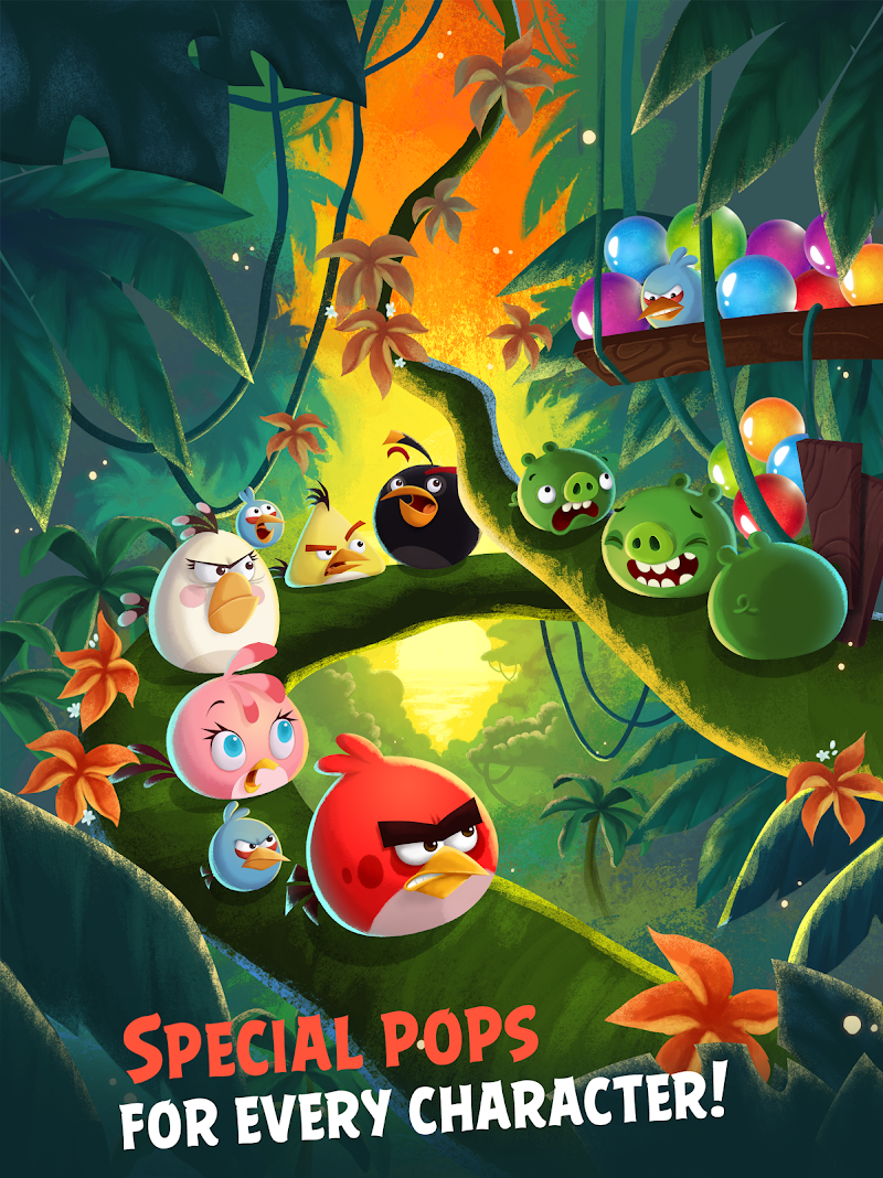 Angry Birds POP Bubble Shooter Screenshot 9