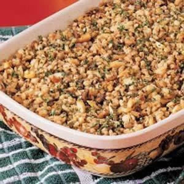 Baked Barley Casserole Recipe