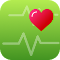 Pedometer & Heart Rate Monitor icon