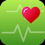 Pedometer & Heart Rate Monitor Icon