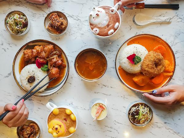 好夥伴咖啡 文山店-甜甜圈造型的肉排,還有超Q立體拉花飲品再搭配爆乳蛋糕  三民區、文山特區、高雄咖啡廳