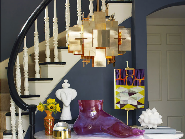 The Jonathan Adler Puzzle Chandelier.