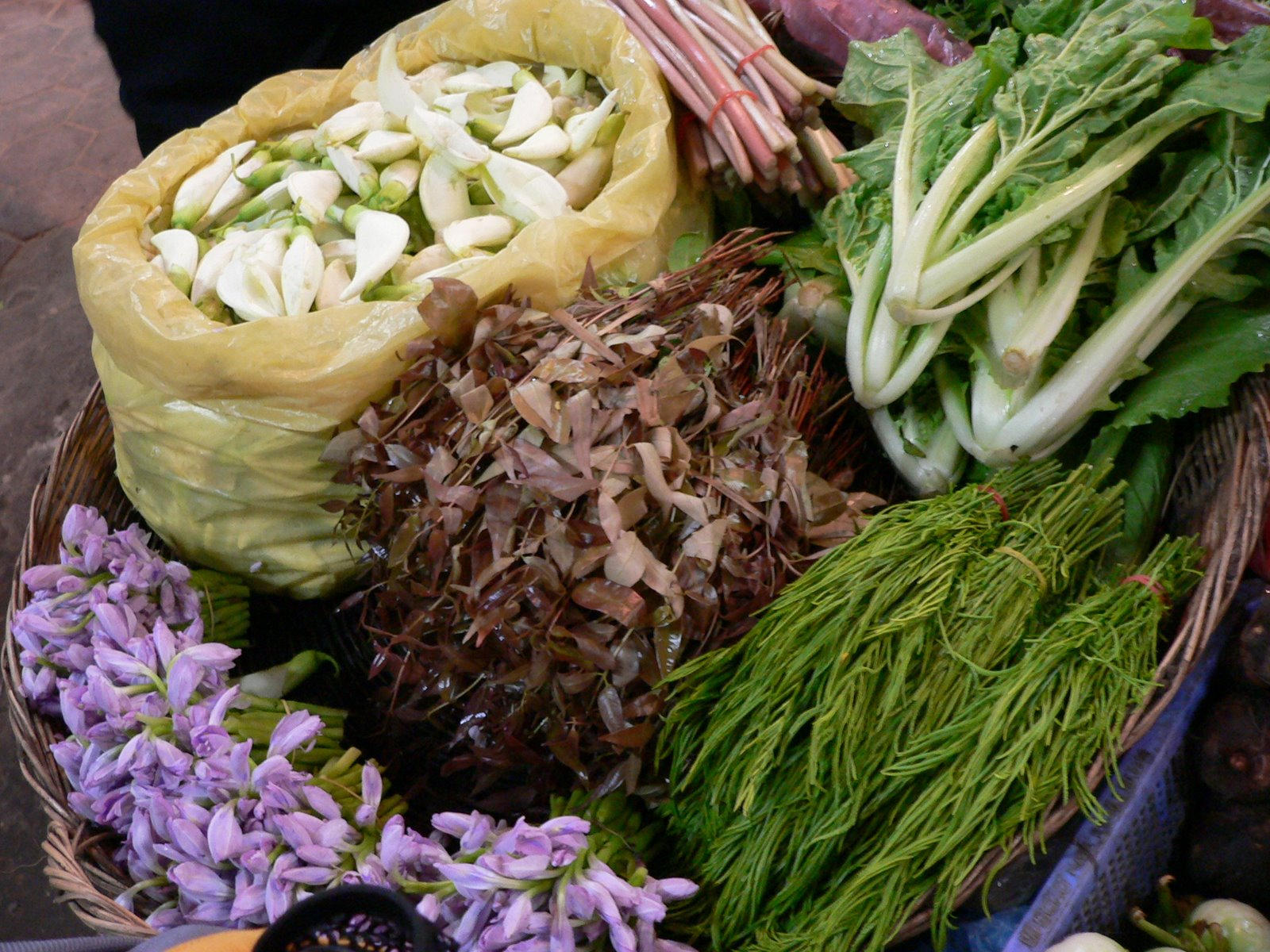 Photo: exotic vegetables