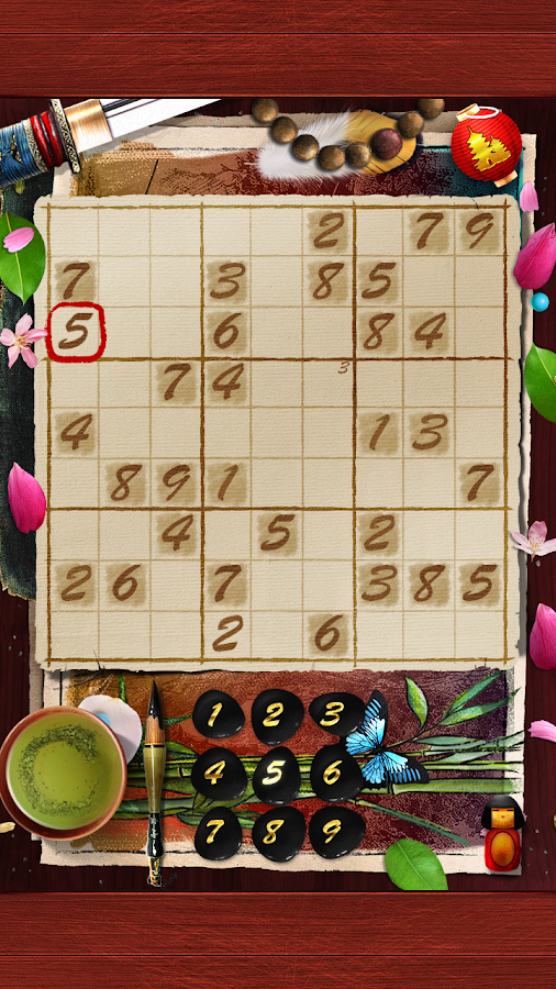Sudoku Samurai- screenshot