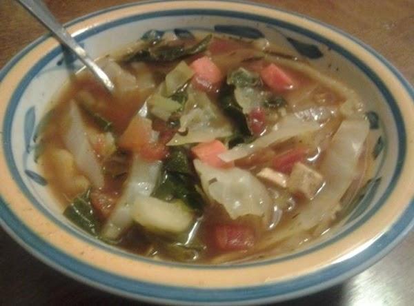 Bursting With Flavor Garden Veggie Soup Recipe