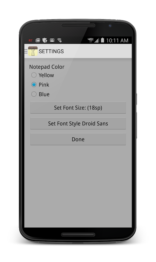 how to change font of whole application in android
