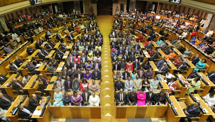 File picture: PARLIAMENT OF RSA