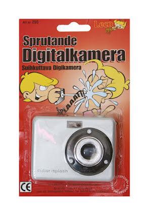 Sprutande digitalkamera
