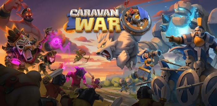 Caravan War: Helden und Tower Defense