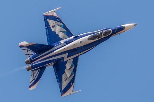 CF-18 Hornet by Alistair Forrest - Transportation Airplanes ( demo team, canadian, jet, fighter, hornet, riat )