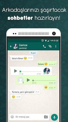 Sahte WhatsApp Konuşma Capsı Nasıl yapılır?