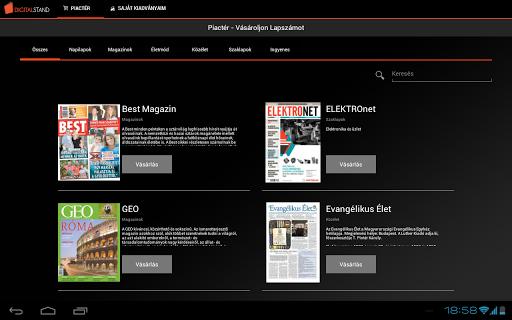 Digitalstand screenshot 1