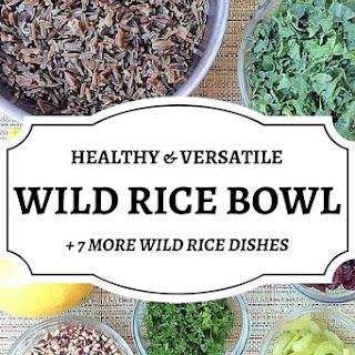 Healthy Wild Rice Bowl