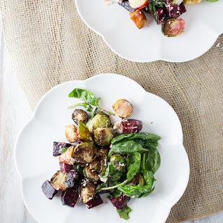 Roasted Vegetable Salad with Caper Vinaigrette