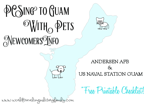 PCSing to Guam with Pets - Newcomers Info