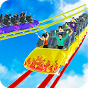 Reckless Roller Coaster Sim: Rollercoaster Games icon