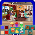 Cafe Food Chef Mania icon