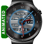 Metal Glow HD Watch Face Icon