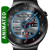 Metal Glow HD Watch Face