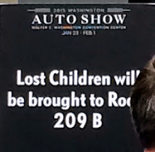 Photo: One of the first things we saw at the auto show. Figured it might be a good idea to take a photo, just in case...