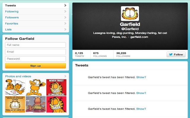 Twitter Filter