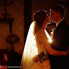 Wedding photographer Marina Shtin (mops). Photo of 28.01.2015