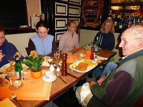 Photo: gemeinsames Abendessen