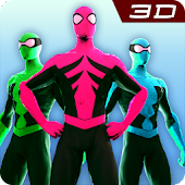League of Power Hero Rangers - Hero Endless Runner