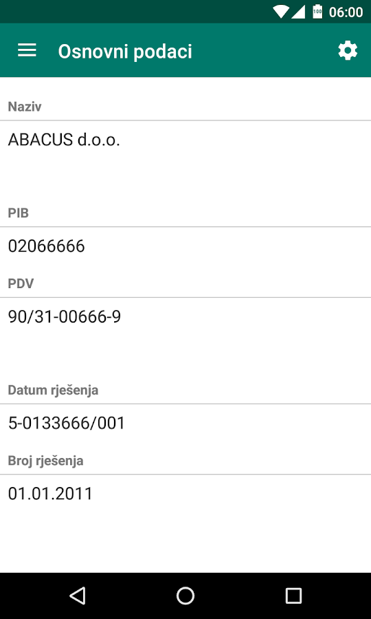 Abacus Reporting- screenshot