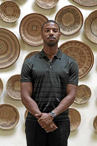 Michael B Jordan was in SA for the premiere of 'Creed II'.