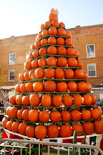 Photo: Another view of the pumpkin tower