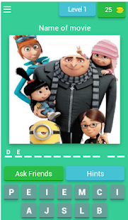Best Animation Movie Quiz 8.3.1 APK + Mod (Free purchase) for Android