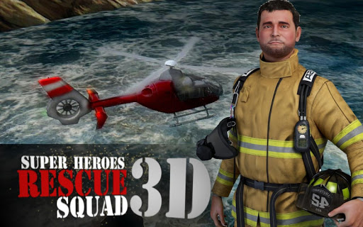 Super Heroes Rescue Squad - 3D