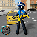 Amazing Police Stickman Rope Hero Gangster Vegas icon