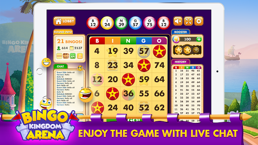 Bingo Kingdom Arena: Free Bingo Game u2013 Live Bingo 0.003.206 screenshots 4