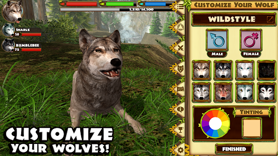 Ultimate Wolf Simulator- screenshot thumbnail