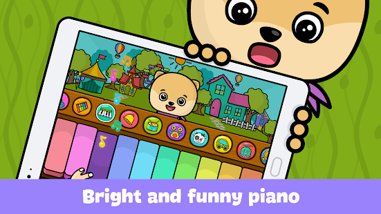 Baby piano and music games for kids and toddlers- screenshot thumbnail