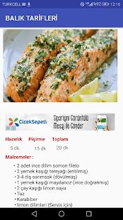 Balık Tarifleri ( İnternetsiz ) - náhled