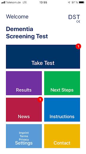 DST - Dementia Screening Test, Alzheimer Test screenshot 2