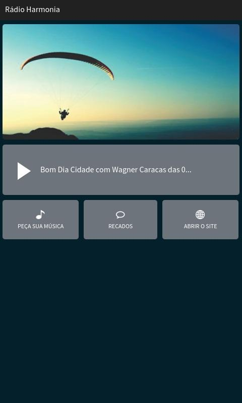 Rádio Harmonia- screenshot