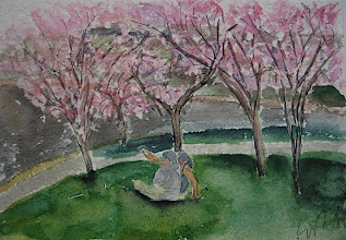 Photo: Primavera en Washington, 21 x 30 cm, 28-3-07, 220 €
