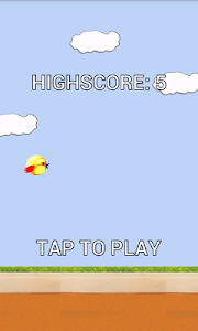 Flappy Kid Bird screenshot 1