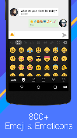 Flash Keyboard- Emoji Emoticon 2.6 screenshot 1002632