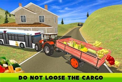 Hill Farm Truck Tractor 3D screenshot
