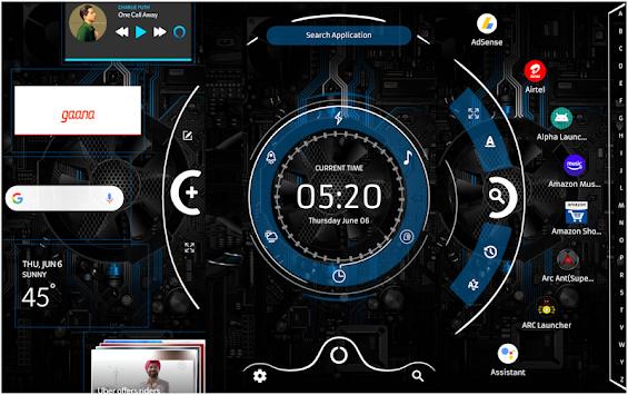 Télécharger Alpha Hybrid Launcher 2019-Themes,Icons