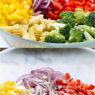 Easy Rotini Pasta Salad