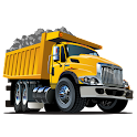 Dump truck games free icon