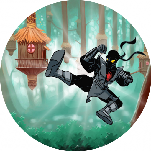 Jungle Ninja Jump Run Hero 冒險 App LOGO-APP試玩